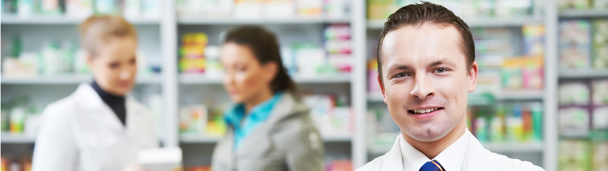 Photo of a pharmacist.